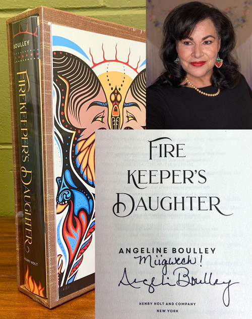 """Angeline Boulley """"Firekeeper's Daughter"""" Signed First Edition, First Printing, Slip-cased Limited Edition of 10 w/COA [Sealed]"""