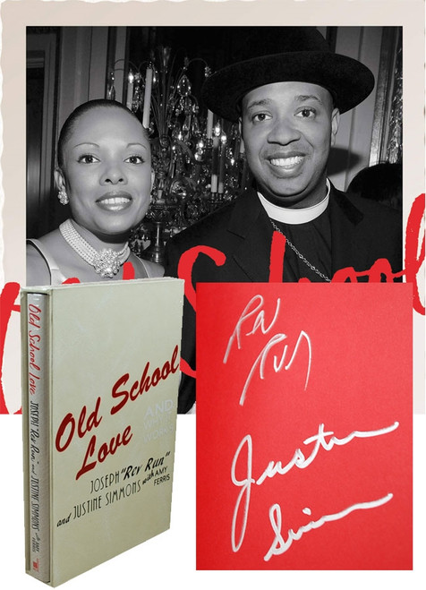 "Joseph ""REV RUN"", Justine Simmons ""Old School Love"" Signed First Edition / First Printing, Slipcased w/COA [Sealed]"