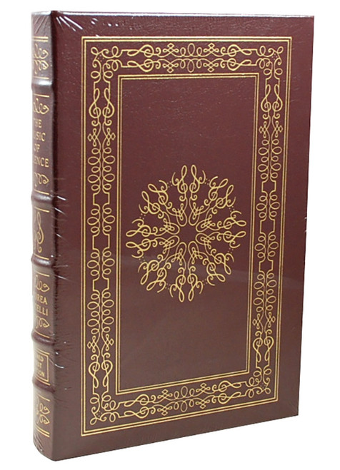 "Easton Press Andrea Bocelli  ""The Music of Silence"" Signed First Edition, Leather Bound Collector's Edition of 1,200 w/COA [Sealed]"