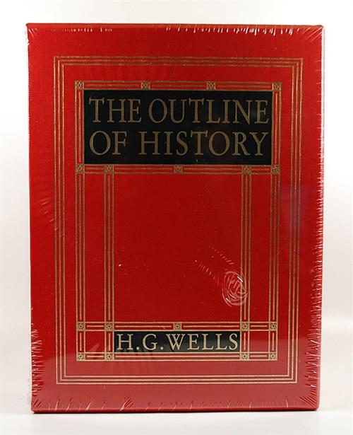 "Easton Press H.G. Wells ""The Outline of History"" Deluxe Limited Edition of only 400 (Sealed)"