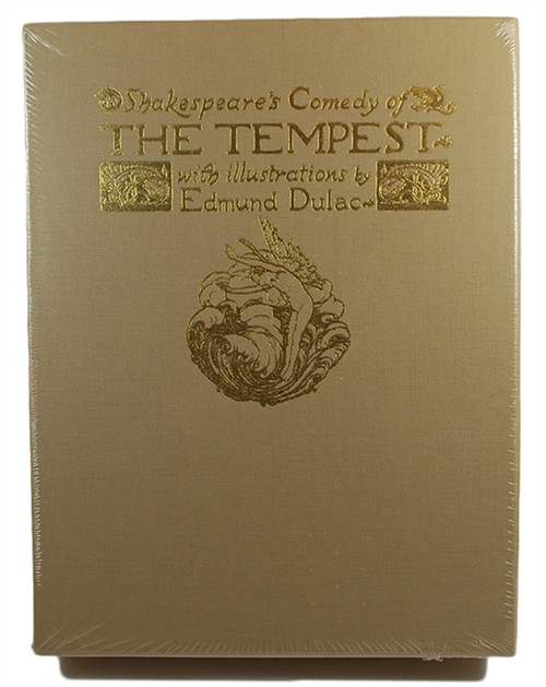 "Easton Press ""The Tempest"" William Shakespeare Limited Edition Leather Bound Deluxe Slipcased of only 400 [Sealed]."