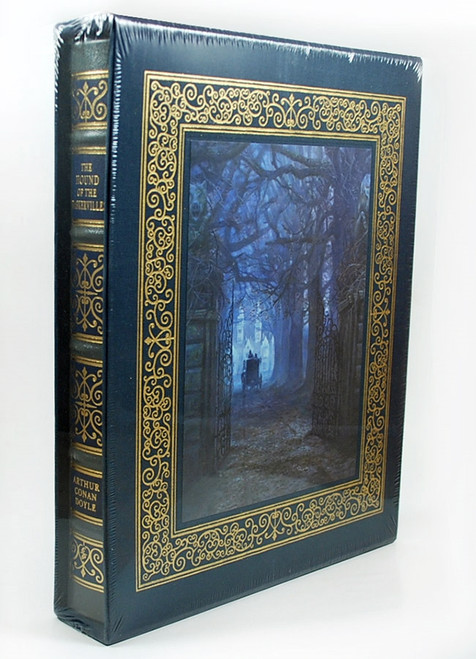 "Easton Press, Arthur Conan Doyle ""The Hound Of The Baskervilles"" Artist Signed Limited Deluxe Edition, Leather Bound Slipcased [Sealed]"