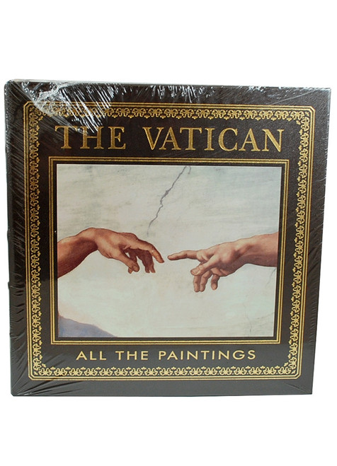"Easton Press ""THE VATICAN: ALL THE PAINTINGS"" Deluxe Limited Edition, Leather Bound Collector's Edition [Sealed]"