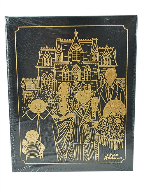 "Easton Press ""The Addams Family: An Evilution"" Kevin Miserocchi and Charles Addams, Leather Bound Collector's Edition [Sealed]"