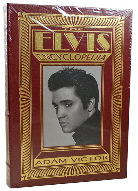 "Easton Press,  Adam Victor ""The Elvis Encyclopedia"" Deluxe Limited Edition, Leather Bound Collector's Edition [Sealed]"