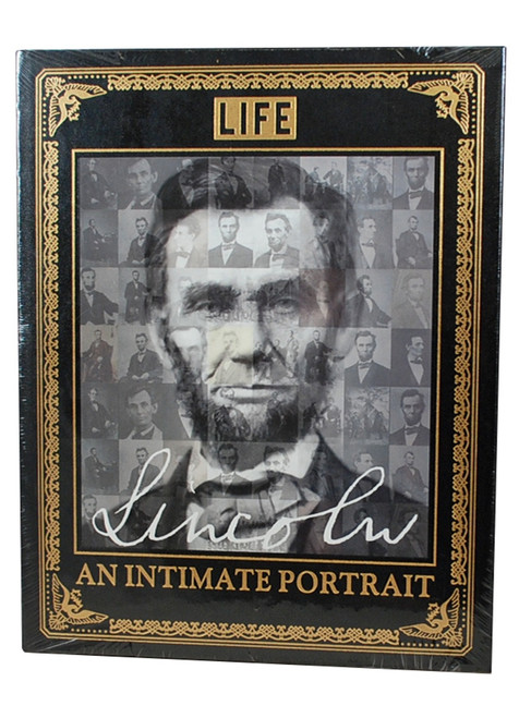 "Easton Press, LIFE ""LINCOLN: An Intimate Portrait""  Deluxe Leather Bound Limited Edition  [Sealed]"