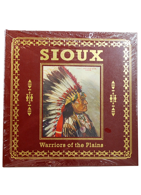 "Easton Press, Michael Johnson ""SIOUX: Warriors of the Plains"" Deluxe Leather Bound Limited Edition  [Sealed]"