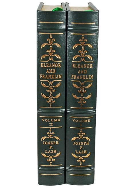 "Easton Press Joseph P. Lash ""Eleanor and Franklin"" 2 volume set"