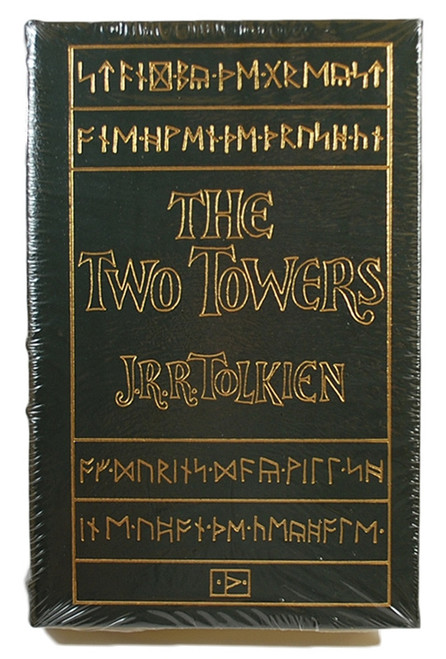 "J.R.R. Tolkien ""The Two Towers"" Leather Bound Collector's Edition Sealed"