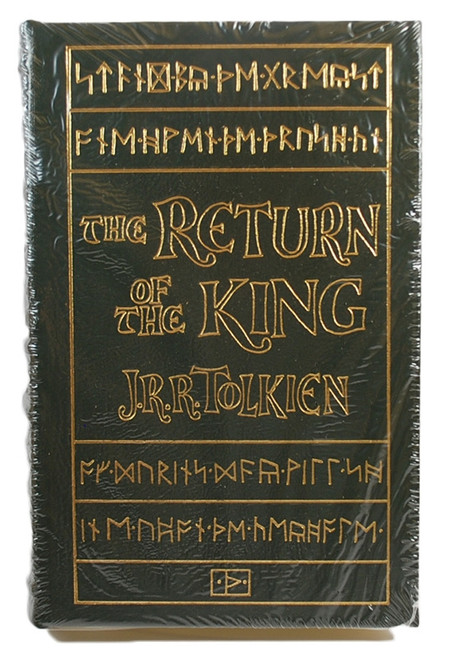 "Easton Press, JRR Tolkien ""The Return Of The King"" Leather Bound Collector's Edition (Sealed)"
