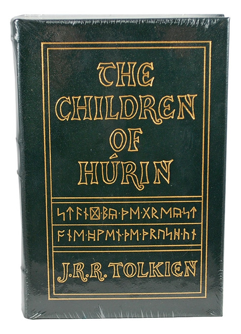 "Easton Press, J.R.R. Tolkien ""The Children of Turin"" Leather Bound Collector's Edition"