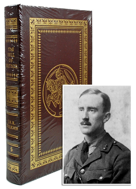 "Easton Press, J.R.R. Tolkien ""The Fall of Arthur"" Leather Bound Collector's Edition, Limited Edition [Sealed]"
