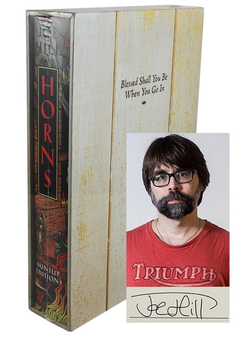 "Joe Hill ""Horns"" Signed Limited Artist Edition of 1,000 Slipcased [Sealed]"