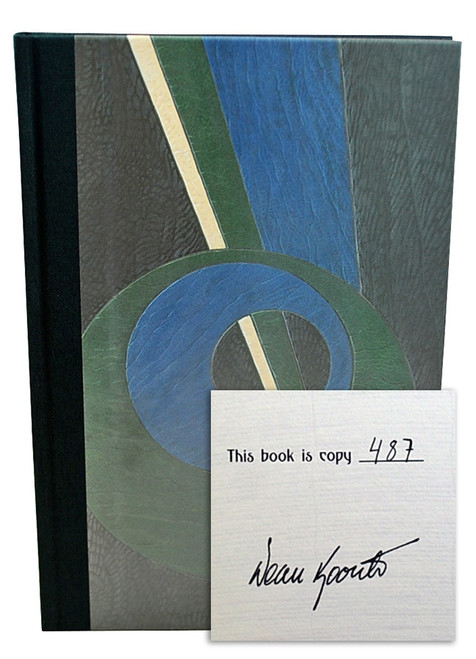 "Dean Koontz ""The Book of Counted Sorrows"" Signed Limited Edition, 487 of 1,250 in slipcase [Very Fine]"