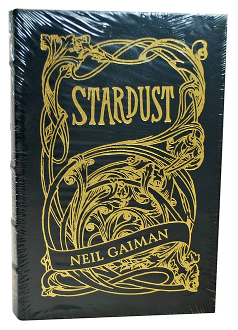 "Easton Press, Neil Gaiman ""Stardust"" Signed Limited Edition, Leather Bound Collector's Edition [Sealed]"