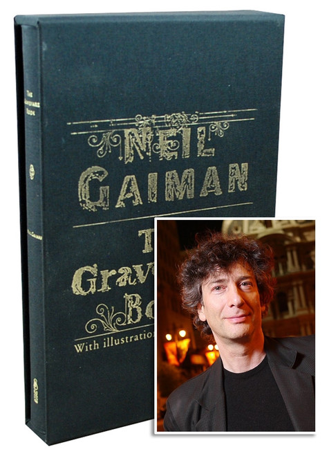"Subterranean Press - Neil Gaiman ""The Graveyard Book"" Signed Limited Edition No. 433/500 Slipcased"