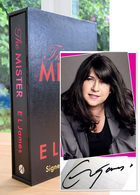 "E.L. James ""The Mister"" UK Signed First Edition, Slipcased [Sealed]"