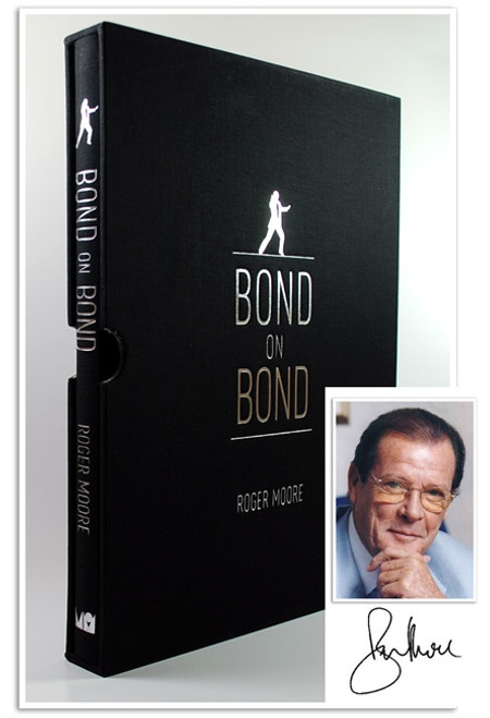 "Roger Moore ""Bond on Bond"" Signed Limited Edition of 1,000"