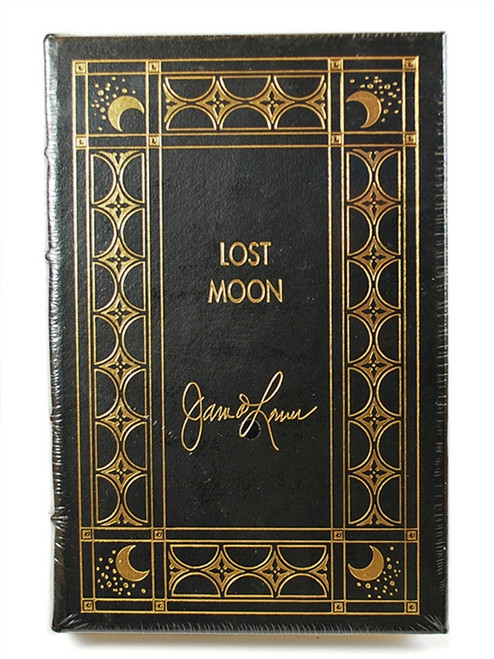 "Easton Press, James Lovell ""LOST MOON: The Perilous Voyage of Apollo 13"" Signed Limited Edition w/COA [Sealed]"