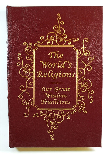 """Easton Press, Huston Smith """"The World's Religions"""" Signed Limited Edition w/COA (Sealed)"""