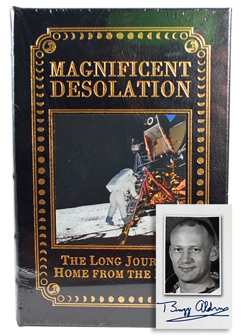"Easton Press, Buzz Aldrin ""Magnificent Desolation"" Signed Limited Edition"