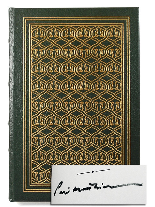 Easton Press Peter Matthiessen AT PLAY FIELDS LORD Signed Limited Edition Leather Bound Book