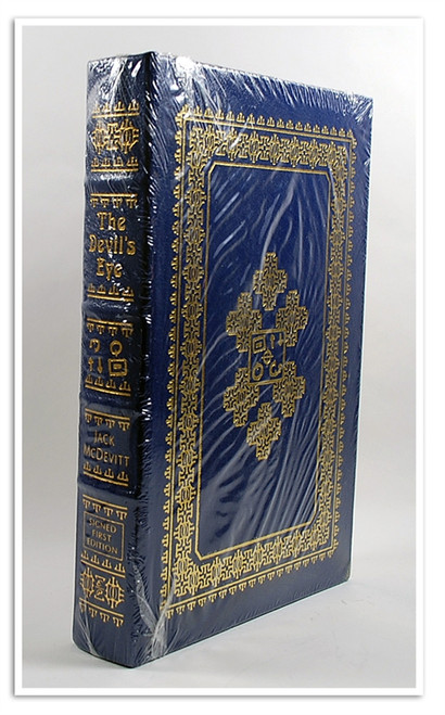 "Easton Press, Jack McDevitt ""The Devil's Eye"" Signed First Edition w/COA (Sealed)"