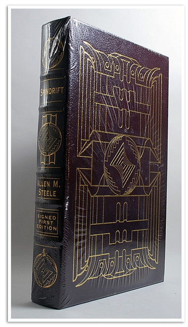"""Easton Press, Allen Steele """"Spindrift"""" Signed First Edition w/COA [Sealed]"""