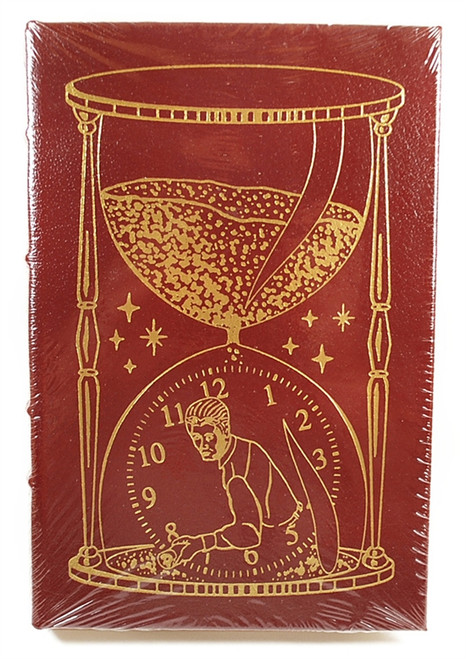 "Easton Press Jack McDevitt ""Time Travelers Never Die"" Signed First Edition Leather Bound Book"