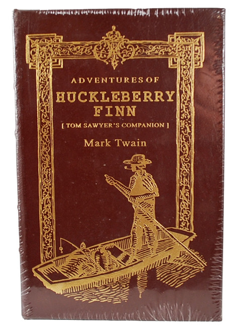 Easton Press - Huckleberry Finn, by Mark Twain - Sealed - 100 Greatest Books