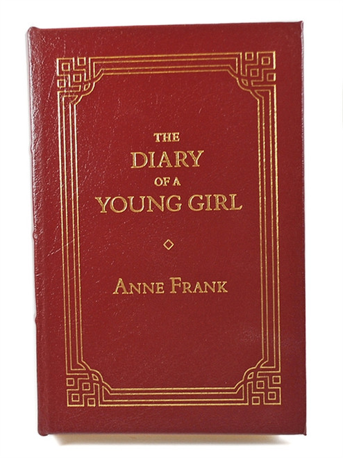 "Easton Press, Anne Frank ""The Diary of A Young Girl: The Definitive Edition"" Leather Bound Limited Edition [Very Fine]"