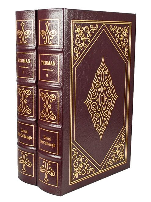 "Easton Press Easton Press ""Truman"" David McCullough, 2 Vol. matching Set"