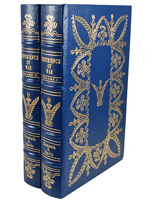 Easton Press, EXPERIENCE OF WAR, Kenneth S. David, Limited Collector's Edition, 2 Vol. Leather Bound Matching Set