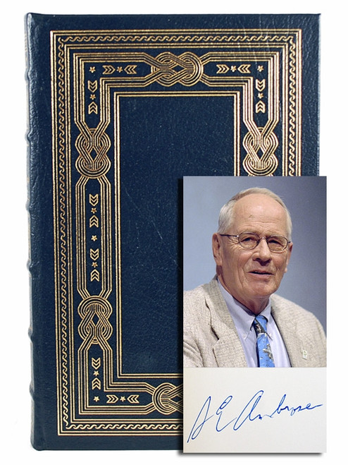 "Easton Press, Stephen E. Ambrose ""D-Day"" Signed Limited Edition w/COA  [Very Fine]"