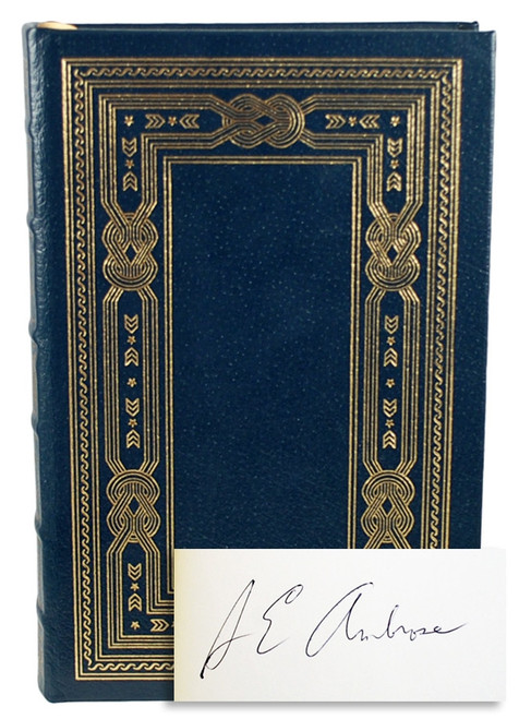"Easton Press, Stephen E. Ambrose ""Citizen Soldiers"" Signed Limited Edition w/COA  [Very Fine]"