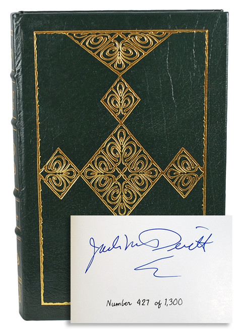 """Easton Press, Jack McDevitt """"Ancient Shores"""" Signed Limited First Edition #427 of only 1,300 [Very Fine]"""