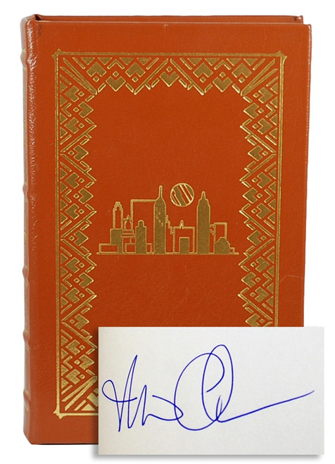 "Easton Press, Michael Chabon ""The Amazing Adventures of Kavalier & Clay"" Signed Collector's Edition w/COA  [Very Fine]"