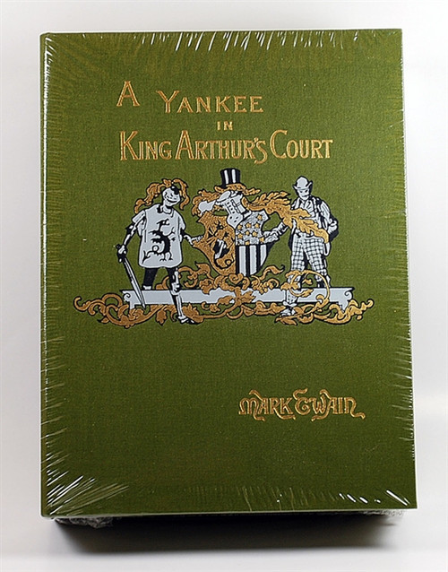 "Easton Press ""A Yankee in King Arthur's Court"" Mark Twain, Deluxe Limited Edition of 300"