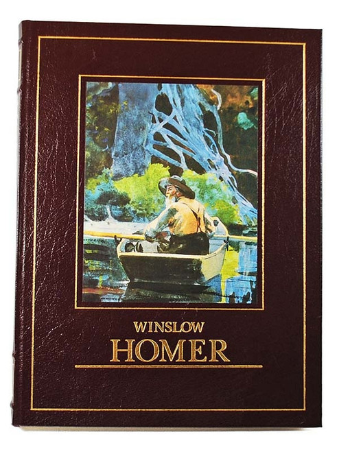 """Winslow Homer"" Leather Bound Collector's Edition - Illustrated"