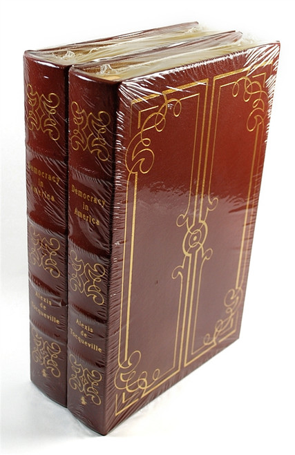 "Easton Press, Alexis de Tocqueville ""Democracy in America"" Limited Edition, Complete Matching Set, 2 Vols (Sealed)"