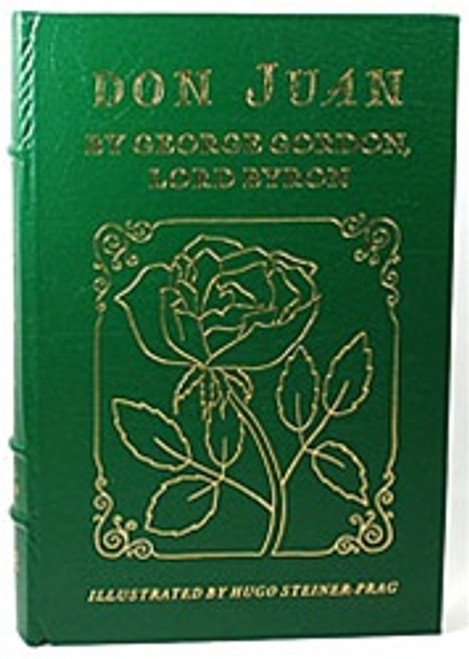 """Easton Press """"Don Juan"""" Lord Byron"""