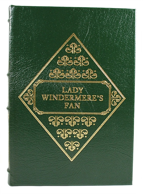 Easton Press 'Lady Windermere's Fan' and 'The Importance of Being Earnest' Oscar Wilde, Leather Bound Collector's Edition