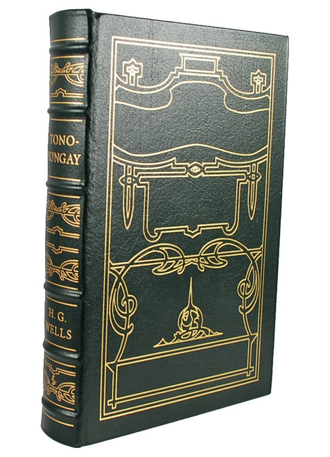 """Easton Press, H. G. Wells """"Tono-Bungay"""" Leather Bound Collector's Edition"""