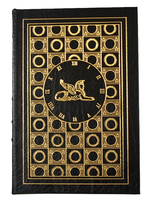 "Easton Press, H. G. Wells ""The Time Machine"" Leather Bound Collector's Edition"