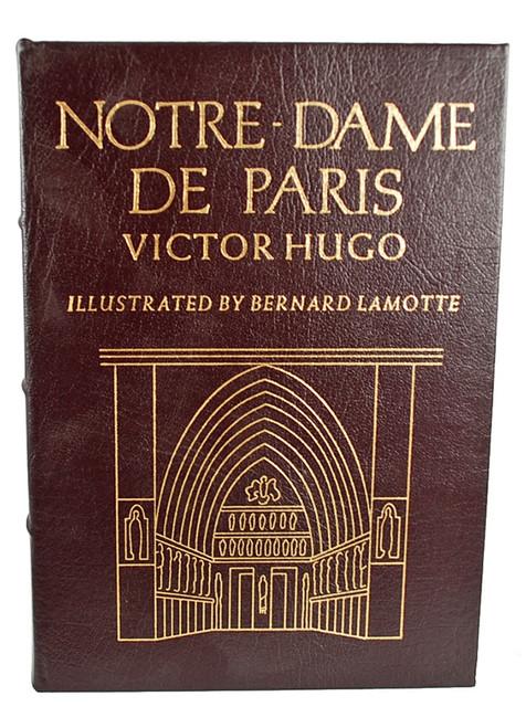 "Easton Press, Victor Hugo ""Notre-Dame de Paris (The Hunchback of Notre Dame)"" Leather Bound Collector's Edition"