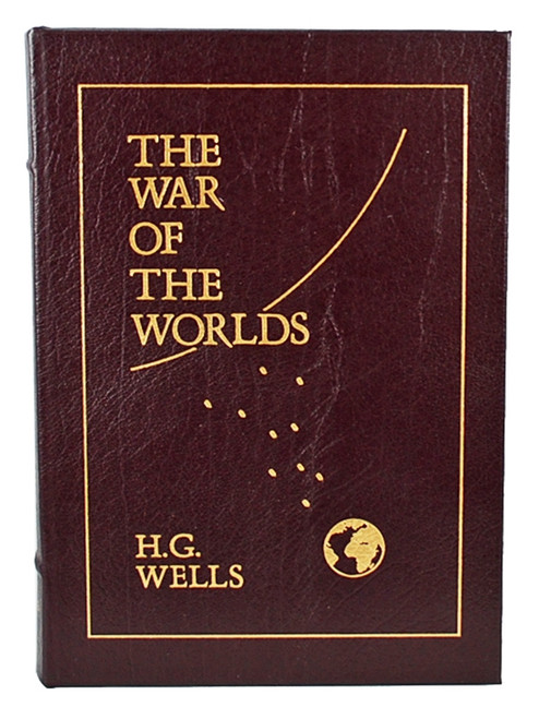 "Easton Press, H. G. Wells ""The War of the Worlds"" Leather Bound Collector's Edition w/Notes [Very Fine]"