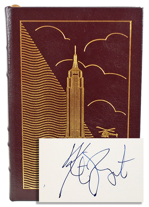 Easton Press Kurt Vonnegut Slapstick Signed Limited Edition Leather Bound Book