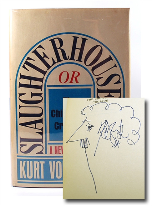 Easton Press Kurt Vonnegut Slaughterhouse Five Signed First Printing