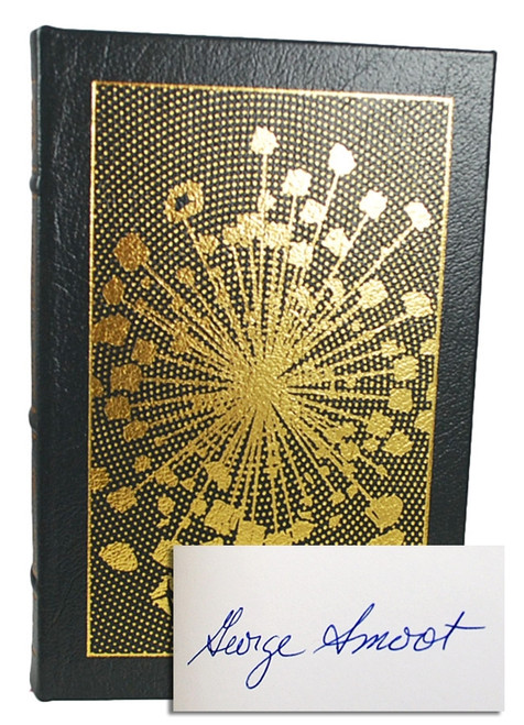 """Easton Press, George Smoot """"Wrinkles In Time"""" Signed Limited Edition w/COA, Leather Bound Collector's Edition"""