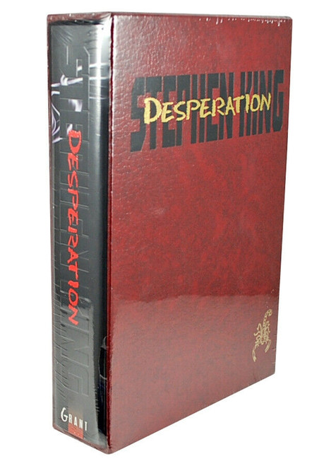"Stephen King, ""Desperation"" Limited Gift Edition of 4,000 in Slipcase [Sealed]"
